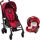 more details on Chicco Lite Way Plus Travel System - Red and Black.