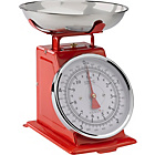 more details on Hanson Traditional Mechanical Kitchen Scale - Red.