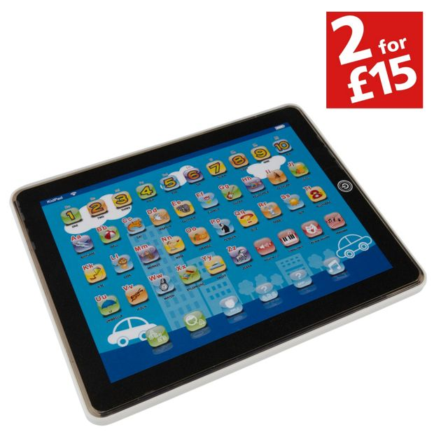 Buy Chad Valley Junior Touch Tablet Blue At Argos Co Uk