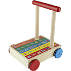 more details on Chad Valley PlaySmart Wooden Alphabet Trolley.