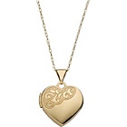 more details on 9ct Gold Heart Locket Pendant.