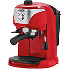 more details on De'Longhi ECC220.R Motivo Espresso Cappuccino Maker - Red.