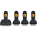 more details on BT 7600 Cordless Telephone with Answer Machine - Quad.
