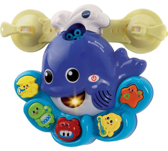 buy vtech bathtime bubbles whale at your online shop for baby bath toys and books. Black Bedroom Furniture Sets. Home Design Ideas