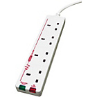 more details on 4 Socket Surge Protected Extension Lead - 1m.