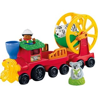 Fisher Price Zoo Train Combo Set