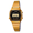 more details on Casio Ladies' Gold Tone Digital Watch.