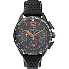more details on Pulsar Men's WRC Chronograph Black Leather Strap Watch.