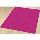 more details on Plain Dye Rug - Pink.