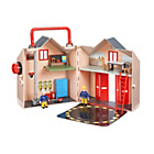 more details on Fireman Sam Deluxe Fire Station Playset.