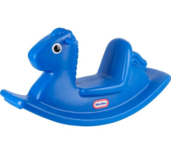 Blue Baby Toys : Buy little tikes rocking horse blue at argos