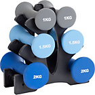more details on Pro Fitness 9kg Dumbbell Tree.