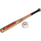 more details on Homerun 26 Inch Wooden Baseball Bat and Ball Set.