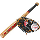 more details on Homerun 26 Inch Baseball Bat, Ball and Glove Set.