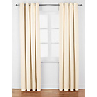 more details on ColourMatch Lima Eyelet Curtains - 117x137cm - Cream.