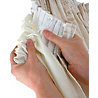 more details on Tape Top Polycotton Curtain Linings - 168x178cm - Cream.