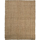 more details on Natural Honey Boucle Jute Rug - 160 x 100cm - Natural.