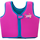 more details on Zoggs Girls' Swim Jacket - Pink - 4-5 Years.