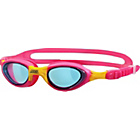 more details on Zoggs Super Seal Junior Pink/Lilac Goggles -  6-14 Years.