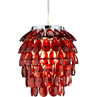 more details on Living Pineapple Shape Red Pendant Light Shade.