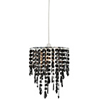 more details on Living Beaded Light Shade - Black.