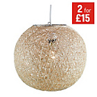 more details on HOME Abaca Ball Shade - Natural.