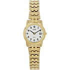 more details on Citizen Ladies' Eco-Drive Gold Tone Expander Bracelet Watch.