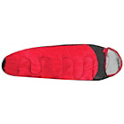 more details on ProAction Red and Black 200GSM Single Mummy Sleeping Bag.