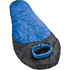 more details on ProAction Blue and Black 300GSM Single Mummy Sleeping Bag.