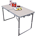 more details on Twin Height Folding Aluminium Table - Large.