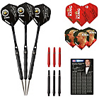 more details on Winmau Mervyn King 22g 90% Tungsten Darts Set.