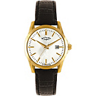 more details on Rotary Ladies' Classic Gold Plated Black Strap Watch.