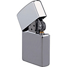more details on Brushed Chrome Zippo Lighter.