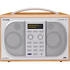 more details on Pure Evoke 2S Luxury Stereo DAB/FM Radio - Maple.