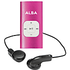 more details on Alba 4GB MP3 Player - Pink.