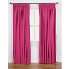 more details on ColourMatch Lima Pencil Pleat Curtains - 117x137cm Fuchsia.