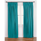 more details on ColourMatch Lima Pencil Pleat Curtains - 168x183cm - Lagoon