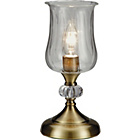 more details on Collection Hurricane Table Lamp - Antique Brass.