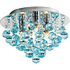 more details on Living Joy Flush Droplets Ceiling Fitting Duck Egg.