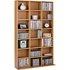 more details on Collection Islington DVD/CD Media Storage Unit - Oak Effect.
