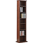 more details on Maine DVD and CD Media Storage Tower - Walnut Effect.