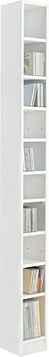 Buy Home Maine Tall Dvd And Cd Media Storage Tower White