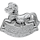 more details on Little Ones Silver Plated Rocking Horse Money Box.