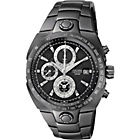 more details on Pulsar Men's Ion Plated Black Chronograph Watch.