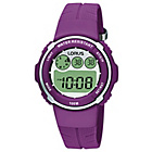more details on Lorus Ladies' Digital Purple Strap Watch.