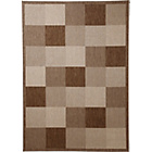 more details on Collection Blocks Rug 160x120cm - Natural/Chocolate.