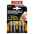 more details on Duracell Plus Power AA Batteries - 4 Pack.