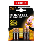 more details on Duracell Plus Power AAA Batteries - 4 Pack.