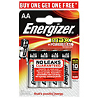 more details on Energizer Max AA Batteries - 4 Pack.