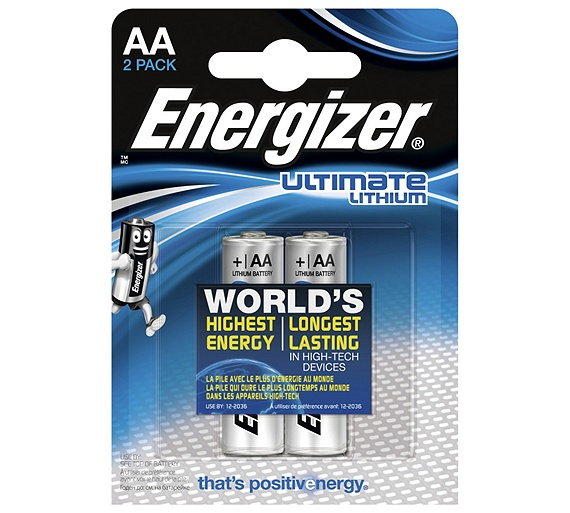 buy energizer ultimate lithium aa batteries 2 pack at. Black Bedroom Furniture Sets. Home Design Ideas